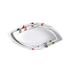 OVAL SNACK SET, REGATA