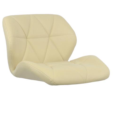 Сиденье для барного стула Диамонд/Diamond, экокожа, бежевое (сидение)