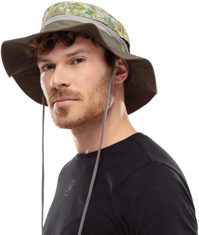 Шляпа походная Buff Booney Hat Uwe Green фото 2