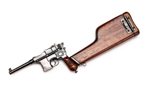 Miniature Mauser C96