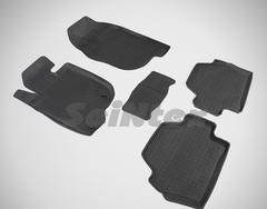 Резиновые коврики для PAJERO Sport-II, высокий борт