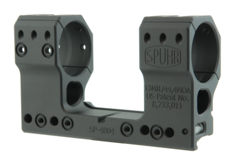 Тактический кронштейн SPUHR D34мм на Picatinny, H48мм, наклон 13MIL/44.4MOA (SP-4804)