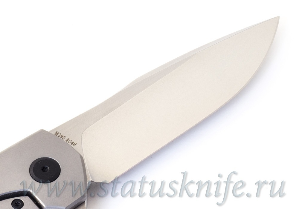 Нож CKF MKAD Empat (M390, титан, карбон, подшипники) - фотография