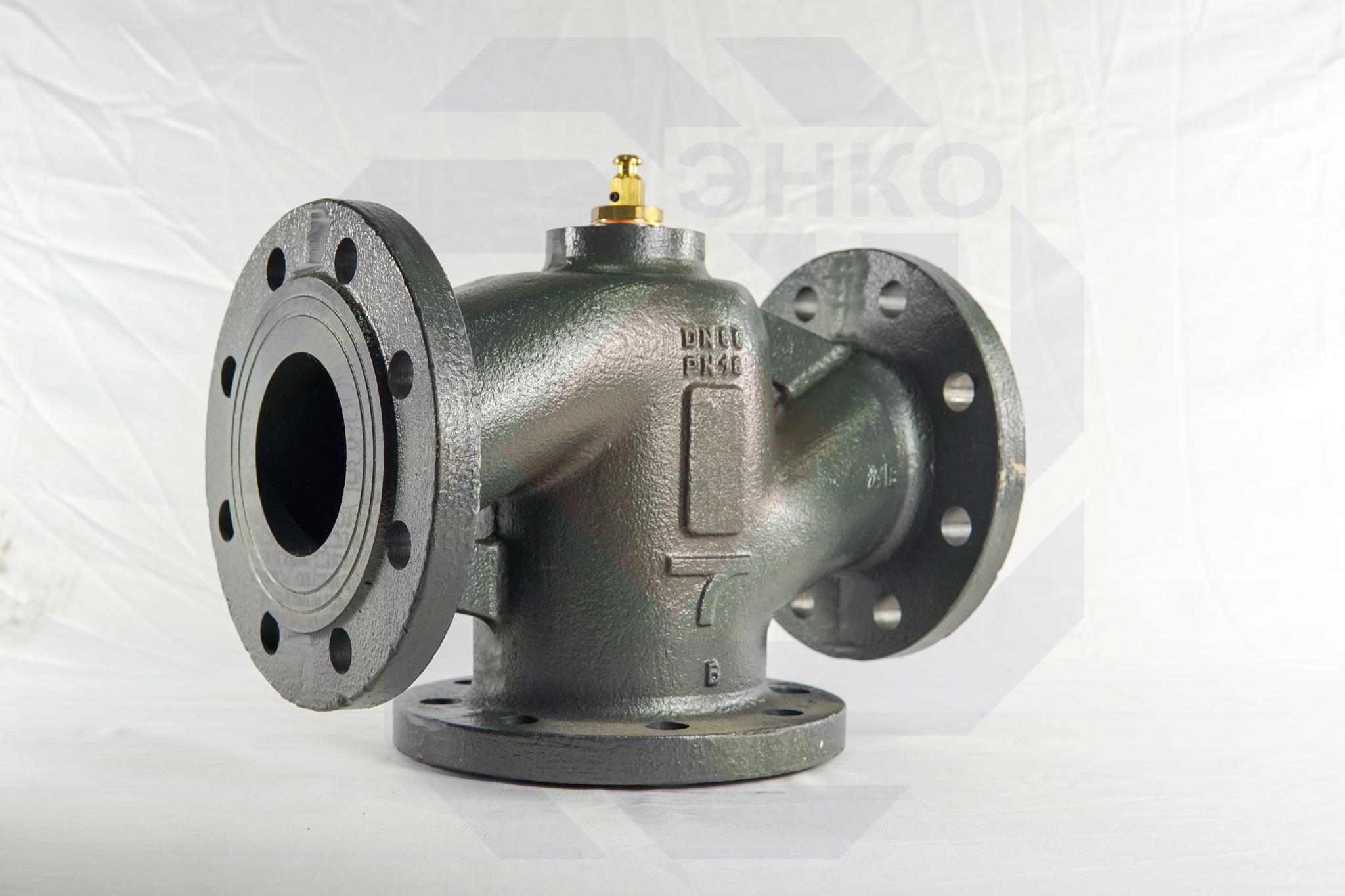 Клапан регулирующий трехходовой MUT MK DN 80