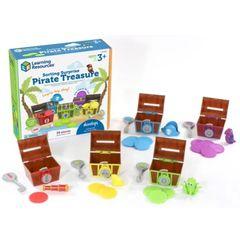 Развивающая игра Замки и ключи. Пиратское сокровище (30 элементов) Learning Resources, арт. LER6808