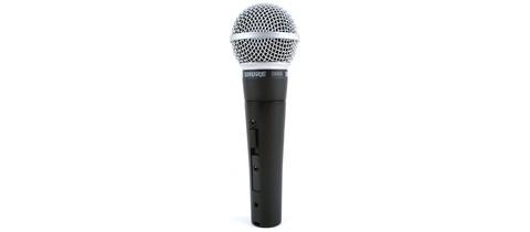 SHURE SM58SE динамічний мікрофон
