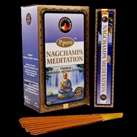 Индийские палочки Ppure NagChampa Meditation