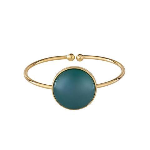 Браслет pearl green agate C1374.17 G/G