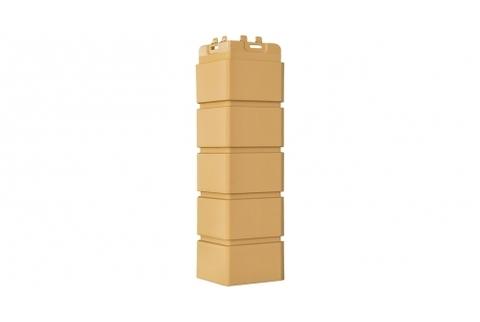Наружные углы к фасадным панелям GRAND LINE Кирпич Клинкерный Стандарт Песочный