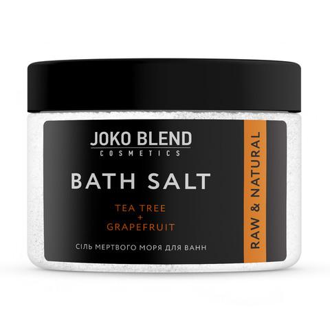 Сіль Мертвого моря для ванн Чайне дерево-Грейпфрут Joko Blend 300 гр (1)