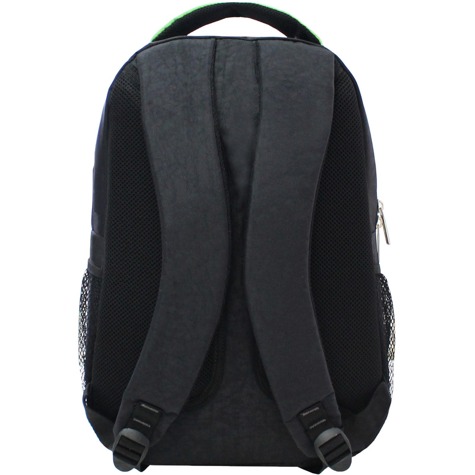 Рюкзак Bagland Лик 21 л. Чёрный / салатовый (0055770) фото 3