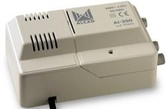 Усилитель ТВ сигнала ALCAD AL-200 (2 вых.)