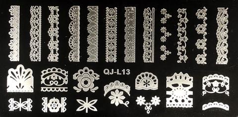 Пластина для стемпинга QJL13