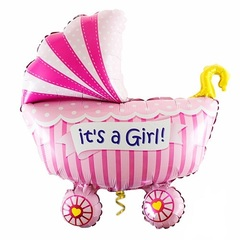 "Фигура ""Розовая коляска"""