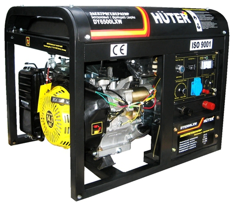Генератор Huter DY6500LXW