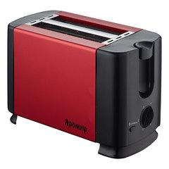 Тостер ЯРОМИР ЯР-602 красный с черным