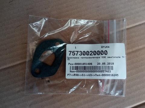 Прокладка теплоизолятора DDE T475