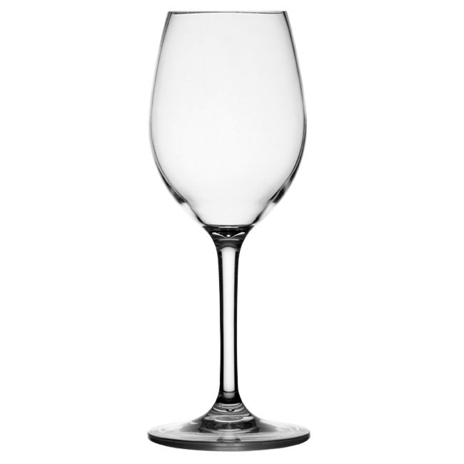 NON SLIP WINE GLASS, CLEAR
