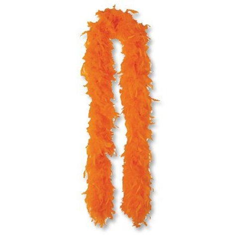 Боа оранжевое, 180 см