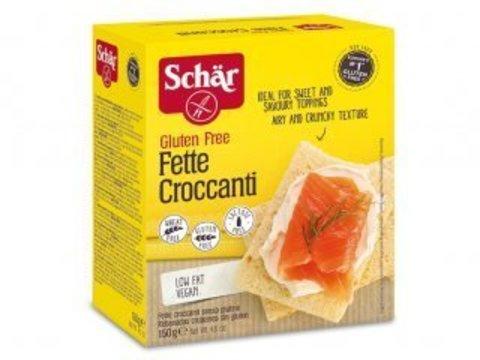 Хлебцы (Fette croccanti) Knusperbrot 150г б/глютена б/лактозы Schar