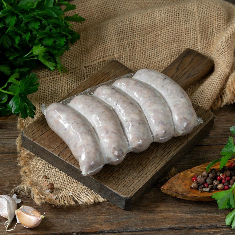Фотография Колбаски тюрингские для жарки и гриля / 350 гр купить в магазине Афлора