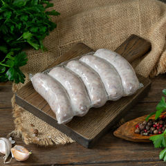 Колбаски тюрингские для жарки и гриля / 350 гр