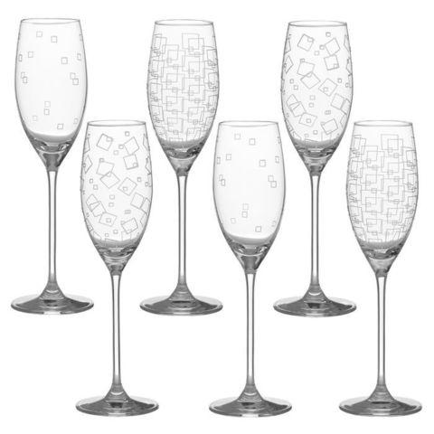 Набор бокалов для шампанского «Wintime», «Гранд микс»
