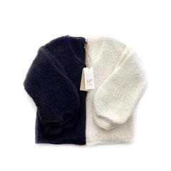 Пуловер укороченный свободный