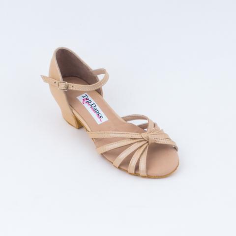 Кожаные танцевальные туфли для девочек