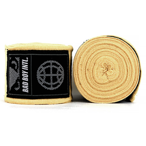Бинты Bad Boy Combat Premium Hand Wraps Brown 5m