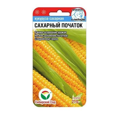 Сахарный початок 6шт кукуруза (Сиб Сад)