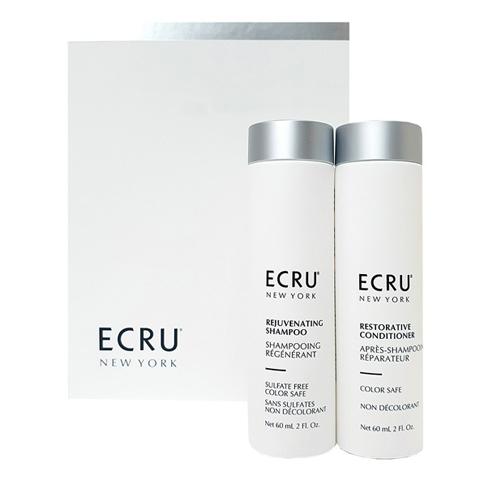 ECRU New York: Набор «Восстановление волос и защита цвета» (Restore and Color Safe), 60мл+ 60мл