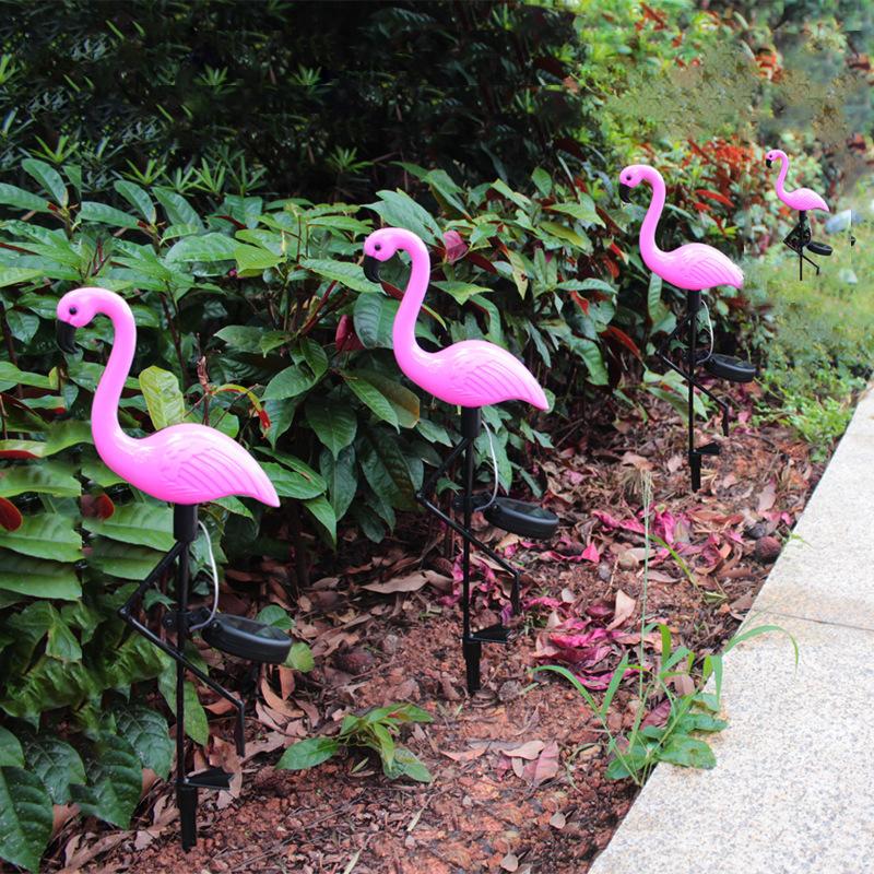 Светильник-фламинго EPECOLED (на солнечной батарее)
