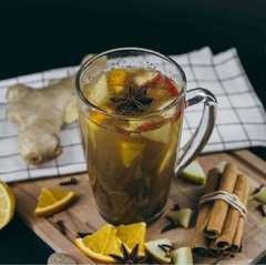 Глинтвейн яблочный замороженный для чайников / 50 гр