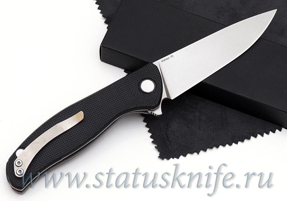 Нож Широгоров Ф3 vanax 35 G10 подшипники - фотография