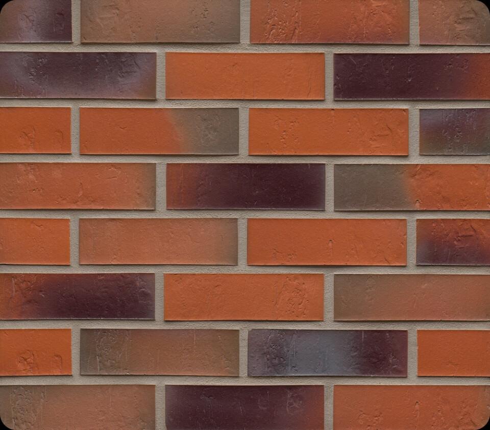 Feldhaus Klinker - R715NF14, Accudo Terreno Bluastro, 240x14x71 - Клинкерная плитка для фасада и внутренней отделки