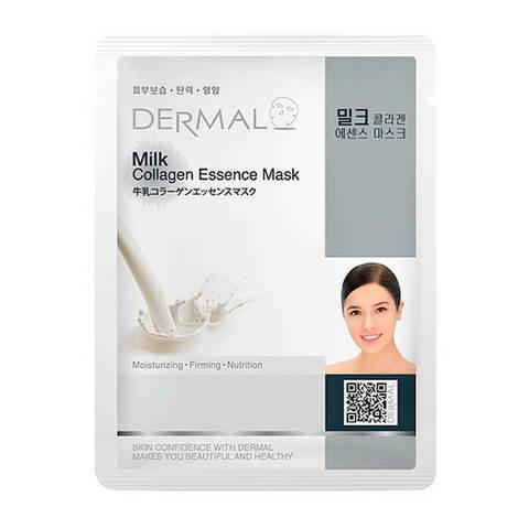 Маска для лица Dermal (молочные протеины и коллаген)