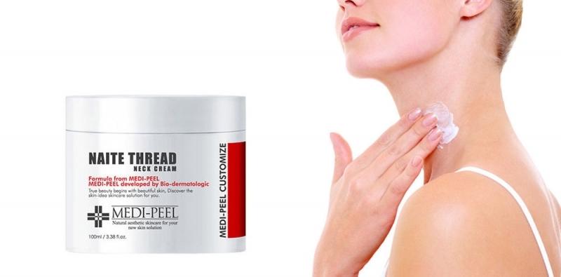 MEDI-PEEL Naite Thread Neck Cream крем для молодости шеи и зоны декольте 100мл