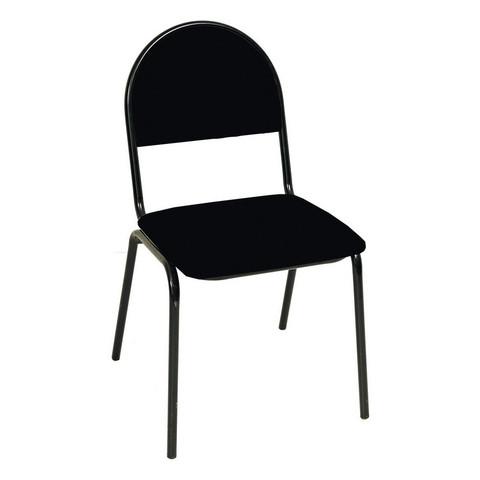 Стул офисный Серна черный (ткань/металл черный)