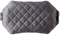 Надувная подушка Klymit Pillow Luxe Grey, серая - 2