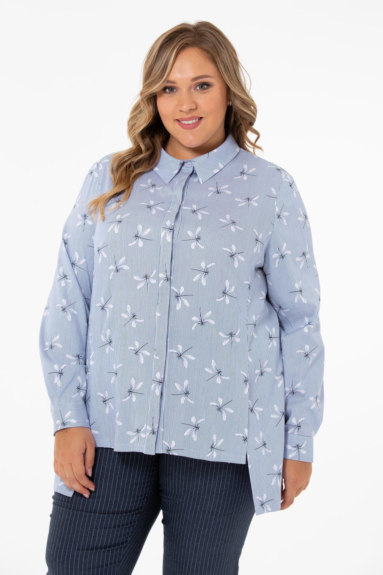 Блузки Блузка с принтом 1875 26725.jpg