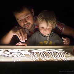 """Планшет для рисования песком """"Детский"""" 50*35 см."""