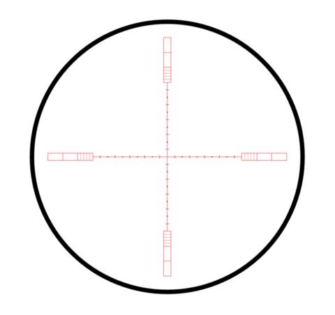 ОПТИЧЕСКИЙ ПРИЦЕЛ HAWKE SIDEWINDER TACTICAL SF 8,5-25Х42(20X 1/2 MIL DOT)