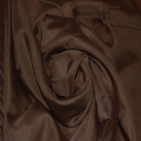 Ткань вуаль однотонная для штор - венге. Ш-300 см. Арт. ERT-55