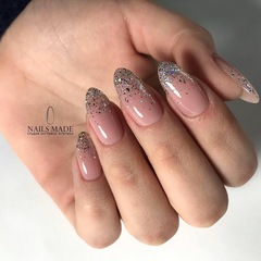 ONIQ Гель-лак 100, MIX: Silver Holographic Shimmer, 10 ml