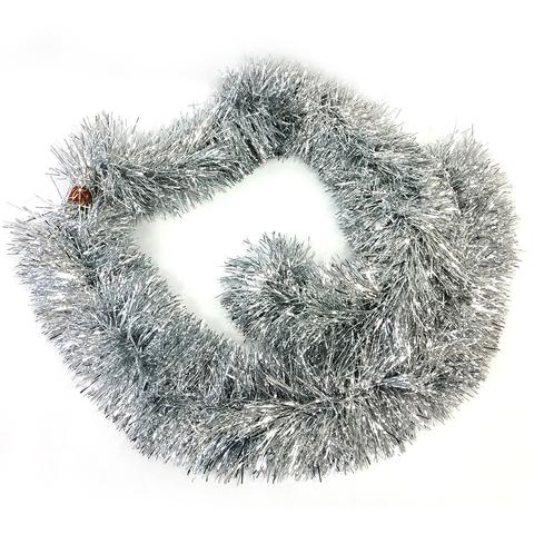 Мишура 17х200см серебро SY19CJHTS-1003
