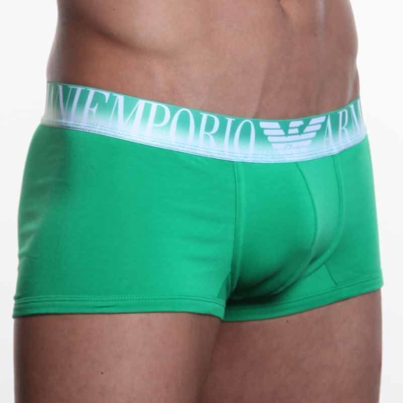 Мужские трусы боксеры Emporio Armani Green Boxer