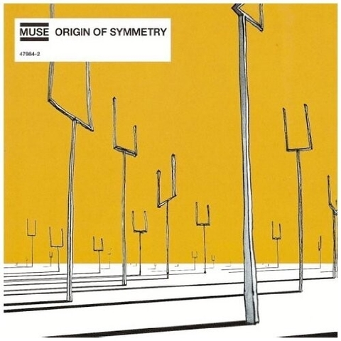 Виниловая пластинка. Muse – Origin of Symmetry