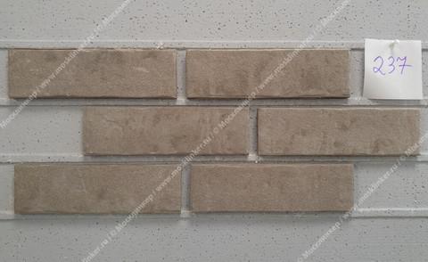 Stroeher - 237 austerrauch, Zeitlos, состаренная поверхность, ручная формовка, 400x71x14 - Клинкерная плитка для фасада и внутренней отделки