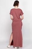 Платье для беременных 08362 красный